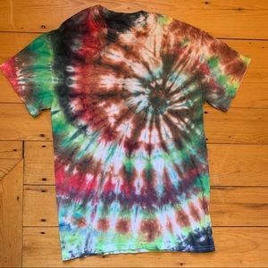 Unique tie dye shirt